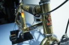Raleigh Burner, every 80s kids dream bike, especially in gold chrome.