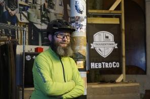 Ed Oxley, the hairier half of HebTroCo