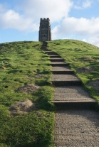 Glastonbury Tor, where magic and mystery bubbles from the ground like the sacred white and red springs