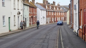 Just a typical main street in any British village
